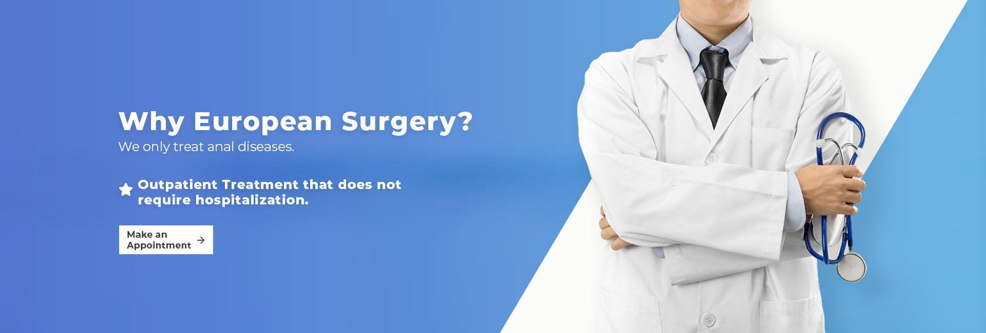 Why European Surgery?
